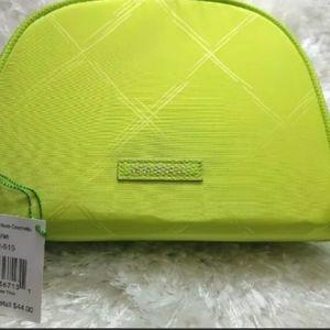 New Vera Bradley Citrine Zip travel cosmetic bag
